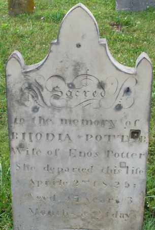 POTTER, RHODIA - Butler County, Ohio | RHODIA POTTER - Ohio Gravestone Photos