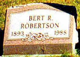 ROBERTSON, ALBERT - Butler County, Ohio | ALBERT ROBERTSON - Ohio Gravestone Photos