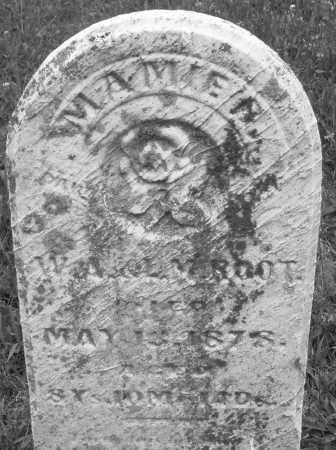ROOT, MAMIE - Butler County, Ohio | MAMIE ROOT - Ohio Gravestone Photos