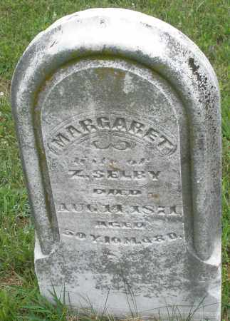 SELBY, MARGARET - Butler County, Ohio | MARGARET SELBY - Ohio Gravestone Photos