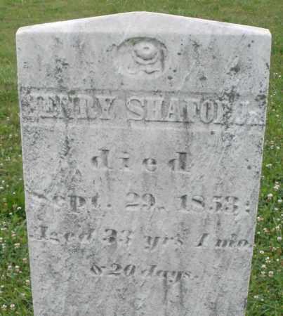 SHAFOR, HENRY JR. - Butler County, Ohio | HENRY JR. SHAFOR - Ohio Gravestone Photos