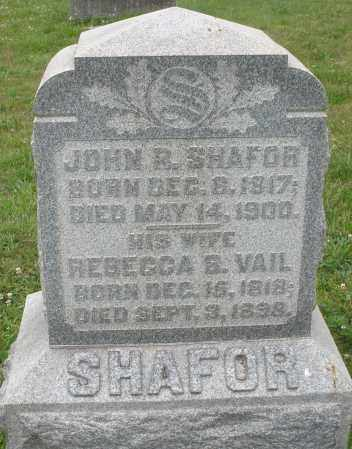 SHAFOR, REBECCA B. - Butler County, Ohio | REBECCA B. SHAFOR - Ohio Gravestone Photos