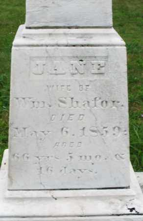 SHAFRO, JANE - Butler County, Ohio | JANE SHAFRO - Ohio Gravestone Photos