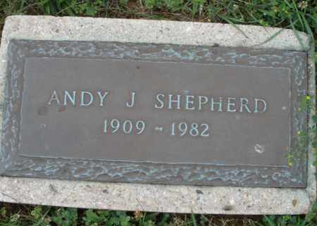 SHEPHERD, ANDY J. - Butler County, Ohio | ANDY J. SHEPHERD - Ohio Gravestone Photos