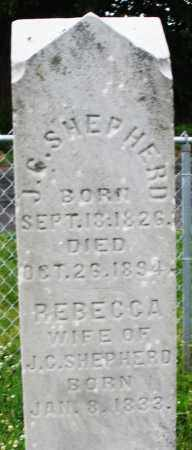 SHEPHERD, REBECCA - Butler County, Ohio | REBECCA SHEPHERD - Ohio Gravestone Photos