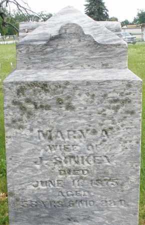 SINKEY, MARY A. - Butler County, Ohio | MARY A. SINKEY - Ohio Gravestone Photos