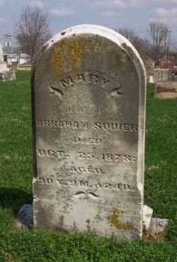SQUIER, MARY - Butler County, Ohio | MARY SQUIER - Ohio Gravestone Photos