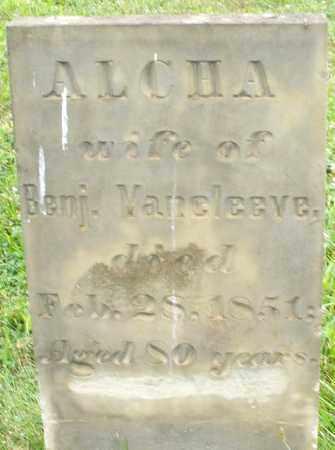 VANCLEEVE, ALCHA - Butler County, Ohio | ALCHA VANCLEEVE - Ohio Gravestone Photos