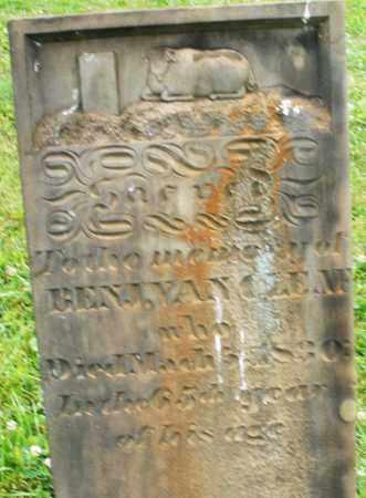 VANCLEEVE, BENJAMIN - Butler County, Ohio | BENJAMIN VANCLEEVE - Ohio Gravestone Photos