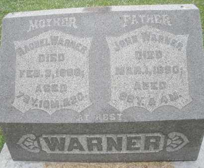 WARNER, JOHN - Butler County, Ohio | JOHN WARNER - Ohio Gravestone Photos