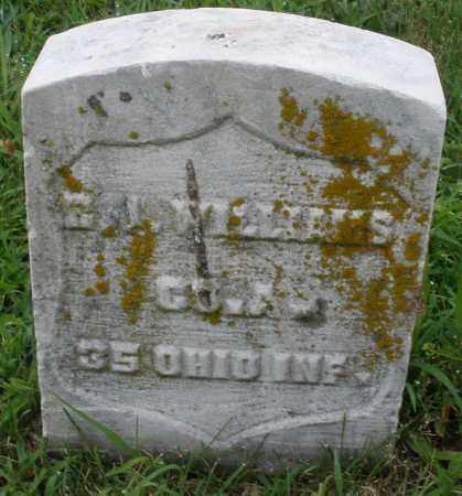 WILLIAMS, E.J. - Butler County, Ohio | E.J. WILLIAMS - Ohio Gravestone Photos