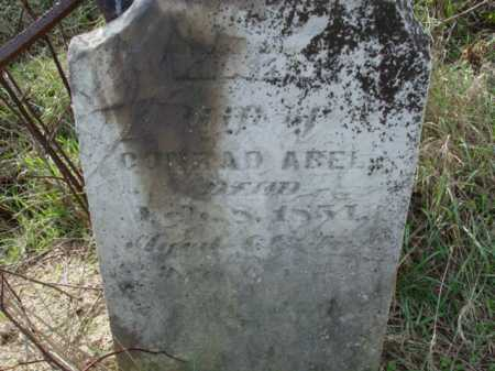 ABEL, MARY - Carroll County, Ohio   MARY ABEL - Ohio Gravestone Photos