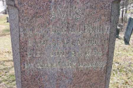 ALBAUGH, AVIS - Carroll County, Ohio | AVIS ALBAUGH - Ohio Gravestone Photos