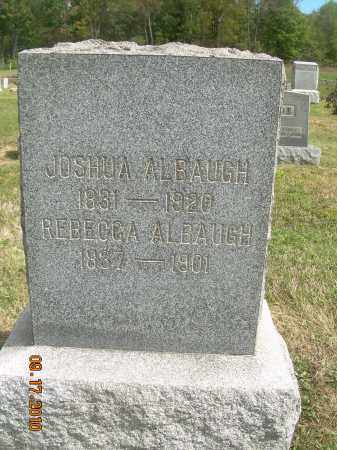 MERRICK ALBAUGH, REBECCA - Carroll County, Ohio | REBECCA MERRICK ALBAUGH - Ohio Gravestone Photos