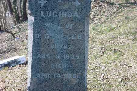 ALLEN, LUCINDA - Carroll County, Ohio | LUCINDA ALLEN - Ohio Gravestone Photos