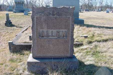 ALLEN, MONUMENT - Carroll County, Ohio | MONUMENT ALLEN - Ohio Gravestone Photos
