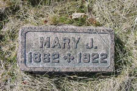 MCGEE ALLEN, MARY J. - Carroll County, Ohio | MARY J. MCGEE ALLEN - Ohio Gravestone Photos
