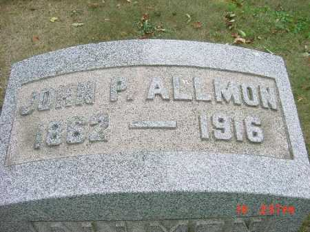 ALLMON, JOHN P. - Carroll County, Ohio | JOHN P. ALLMON - Ohio Gravestone Photos
