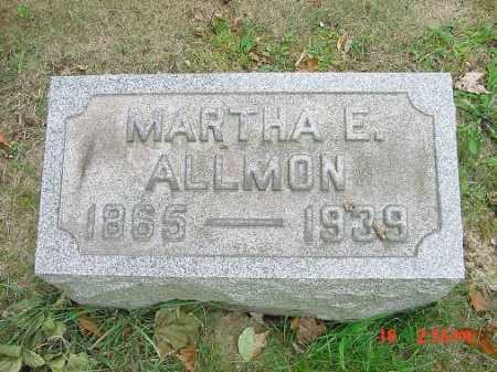 CARSON ALLMON, MARTHA E. - Carroll County, Ohio | MARTHA E. CARSON ALLMON - Ohio Gravestone Photos