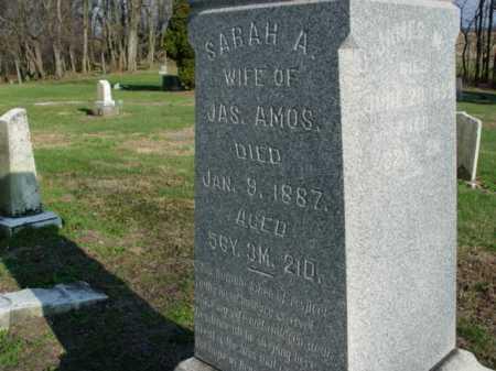 AMOS, SARAH A. - Carroll County, Ohio | SARAH A. AMOS - Ohio Gravestone Photos