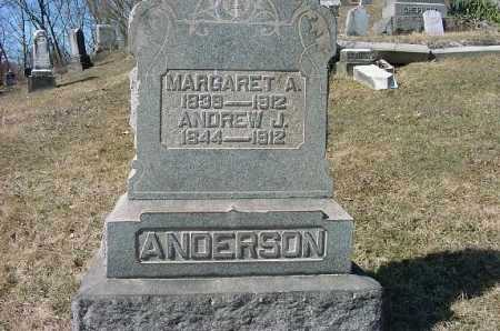 ANDERSON, MARGARET A. - Carroll County, Ohio | MARGARET A. ANDERSON - Ohio Gravestone Photos