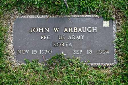 ARBAUGH, JOHN W. - Carroll County, Ohio | JOHN W. ARBAUGH - Ohio Gravestone Photos