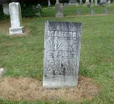 ARBUCKLE, MARTHA - Carroll County, Ohio | MARTHA ARBUCKLE - Ohio Gravestone Photos