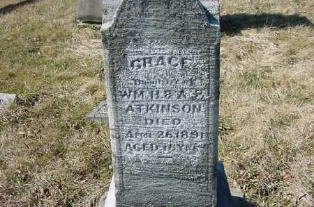 ATKINSON, GRACE - Carroll County, Ohio | GRACE ATKINSON - Ohio Gravestone Photos