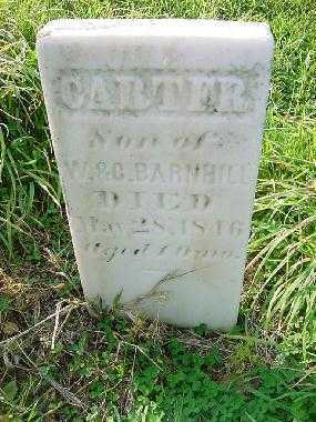 BARNBILL, CARTER - Carroll County, Ohio | CARTER BARNBILL - Ohio Gravestone Photos