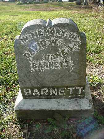 BARNETT, JANE L. - Carroll County, Ohio | JANE L. BARNETT - Ohio Gravestone Photos