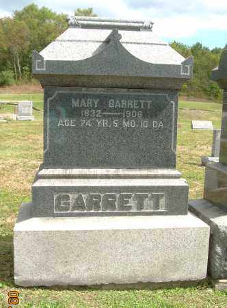 BARRETT, MARY - Carroll County, Ohio   MARY BARRETT - Ohio Gravestone Photos