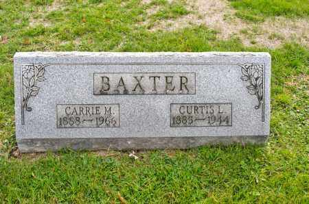 BAXTER, CARRIE M. - Carroll County, Ohio | CARRIE M. BAXTER - Ohio Gravestone Photos