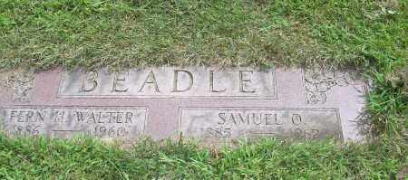 BEADLE, FERN HAZEL - Carroll County, Ohio | FERN HAZEL BEADLE - Ohio Gravestone Photos