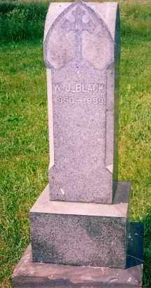 BLACK, WILLIAM J. - Carroll County, Ohio | WILLIAM J. BLACK - Ohio Gravestone Photos