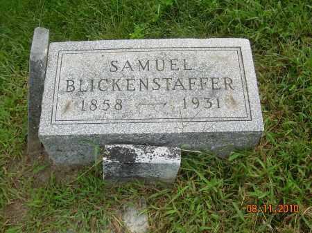 BLICKENSTAFFER, SAMUEL - Carroll County, Ohio | SAMUEL BLICKENSTAFFER - Ohio Gravestone Photos