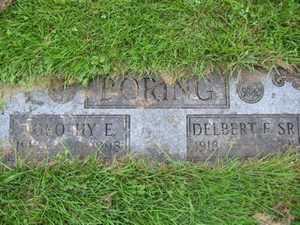 BORING, DOROTHY E. - Carroll County, Ohio | DOROTHY E. BORING - Ohio Gravestone Photos