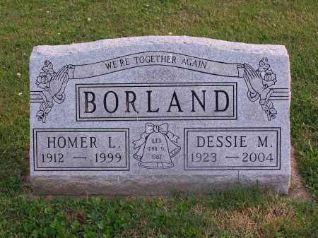 BORLAND, DESSIE - Carroll County, Ohio | DESSIE BORLAND - Ohio Gravestone Photos
