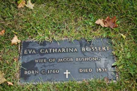 BOSSERT BUSHONG, EVA CATHERINA - Carroll County, Ohio | EVA CATHERINA BOSSERT BUSHONG - Ohio Gravestone Photos
