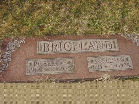 BRICELAND, STELLA M. - Carroll County, Ohio | STELLA M. BRICELAND - Ohio Gravestone Photos