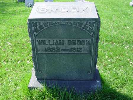 BROOK, WILLIAM - Carroll County, Ohio | WILLIAM BROOK - Ohio Gravestone Photos