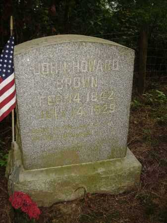BROWN, JOHN HOWARD - Carroll County, Ohio | JOHN HOWARD BROWN - Ohio Gravestone Photos