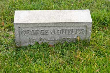 BUTLER, GEORGE J. - Carroll County, Ohio | GEORGE J. BUTLER - Ohio Gravestone Photos