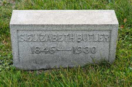 BUTLER, SARAH ELIZABETH - Carroll County, Ohio | SARAH ELIZABETH BUTLER - Ohio Gravestone Photos