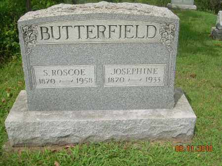 STEWART BUTTERFIELD, JOSEPHINE - Carroll County, Ohio | JOSEPHINE STEWART BUTTERFIELD - Ohio Gravestone Photos