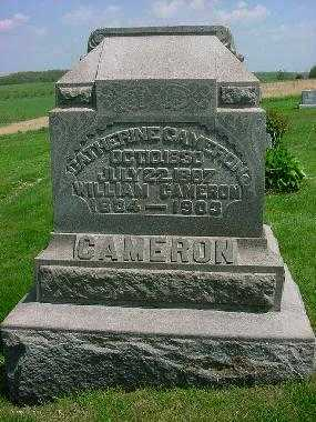 CAMERON, WILLIAM - Carroll County, Ohio | WILLIAM CAMERON - Ohio Gravestone Photos