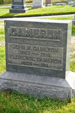 CAMERON, FLORENCE - Carroll County, Ohio | FLORENCE CAMERON - Ohio Gravestone Photos
