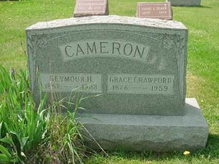 CRAWFORD CAMERON, GRACE - Carroll County, Ohio | GRACE CRAWFORD CAMERON - Ohio Gravestone Photos
