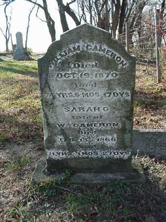 CAMERON, WILLIAM [VIEW 2] - Carroll County, Ohio   WILLIAM [VIEW 2] CAMERON - Ohio Gravestone Photos