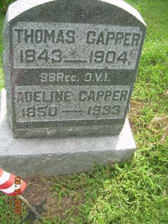 CAPPER, ADELINE - Carroll County, Ohio | ADELINE CAPPER - Ohio Gravestone Photos