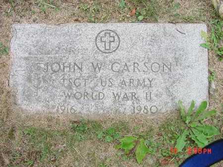 CARSON, JOHN - Carroll County, Ohio | JOHN CARSON - Ohio Gravestone Photos